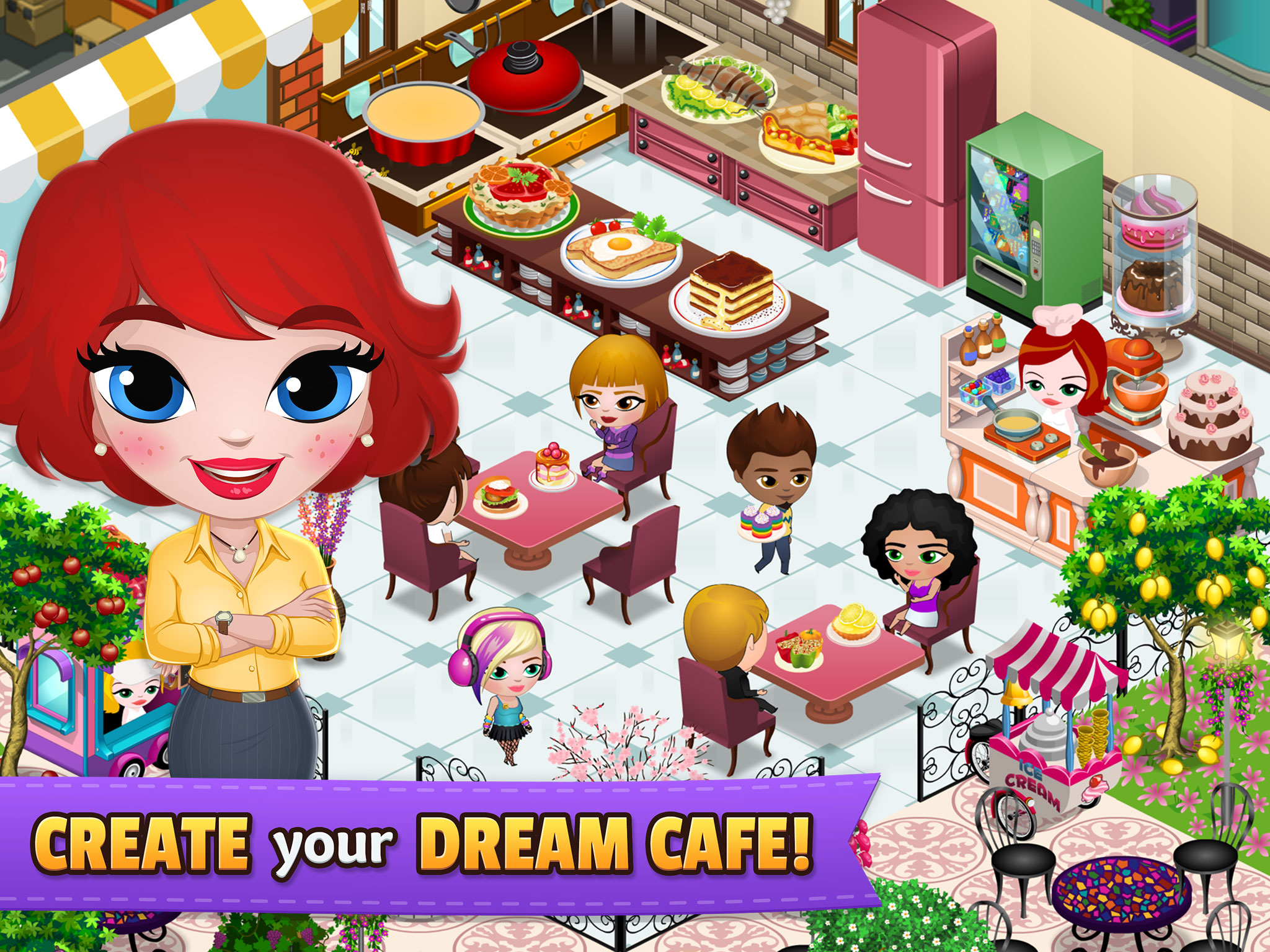 CREATE your DREAM CAFE